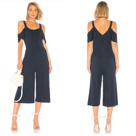 50e4a25c9741 Revolve Bobi Seaside Linen Jumpsuit